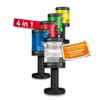 LED-MULTICOLOUR SIGNALSÄULE CO ST 70 RGBA